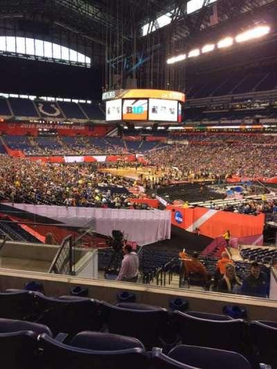 Lucas Oil Stadium, section: 232, row: 8, seat: 6