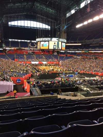 Lucas Oil Stadium, section: 229, row: 11, seat: 14