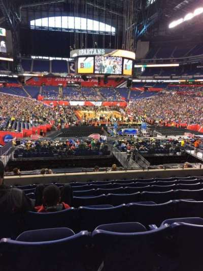 Lucas Oil Stadium, section: 228, row: 8, seat: 21