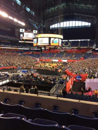 Lucas Oil Stadium, section: 224, row: 4, seat: 9