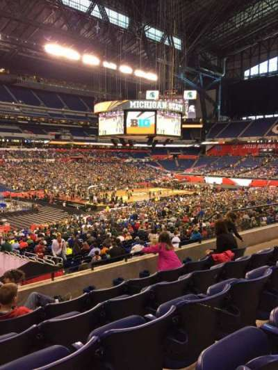 Lucas Oil Stadium, section: 218, row: 5, seat: 10