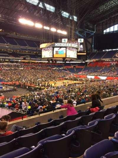 Lucas Oil Stadium, section: 218, row: 5, seat: 10