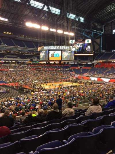 Lucas Oil Stadium, section: 217, row: 11, seat: 19