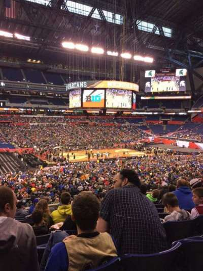 Lucas Oil Stadium, section: 216, row: 12, seat: 20