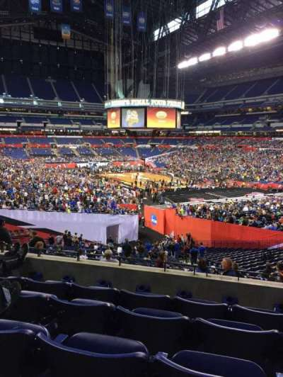 Lucas Oil Stadium, section: 204, row: 5, seat: 10