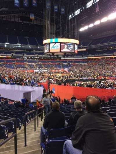 Lucas Oil Stadium, section: 103, row: 29, seat: 19
