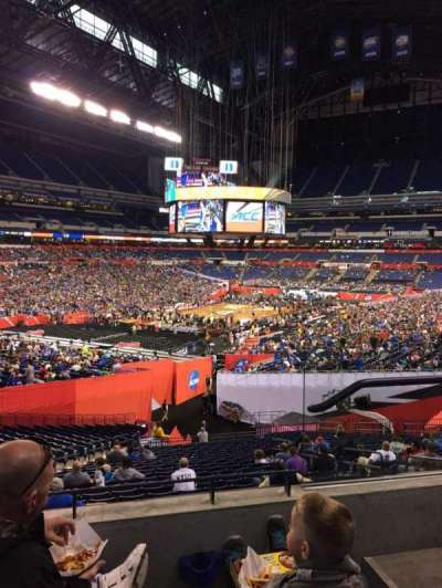 Lucas Oil Stadium, section: 249, row: 3, seat: 3