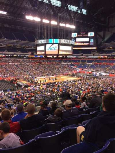 Lucas Oil Stadium, section: 244, row: 12, seat: 9