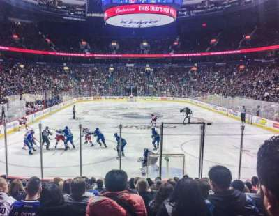 Rogers Arena, section: 112, row: 13, seat: 6