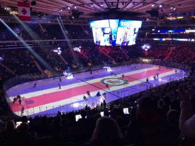 Madison Square Garden section 208