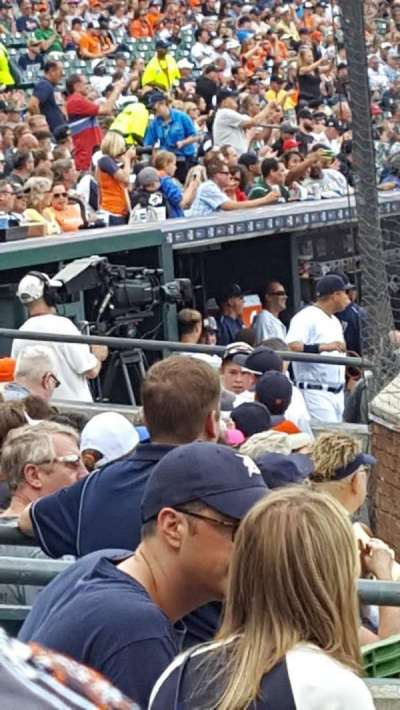 Comerica Park, section: 127, row: 10, seat: 3,4