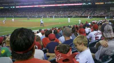 Angel Stadium section 108
