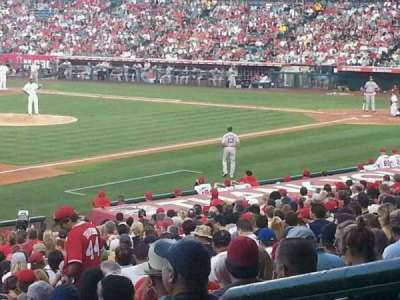 Angel Stadium section 208