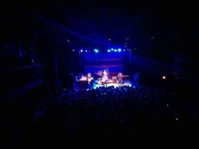 Union Transfer section balcony
