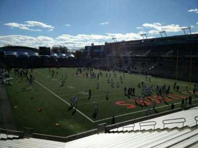 Princeton Stadium, section: 20, seat: 15