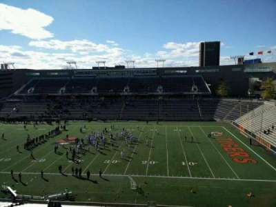 Princeton Stadium, section: 23, row: 36, seat: 18