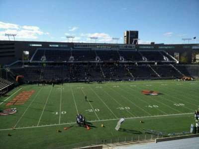 Princeton Stadium, section: 30, row: 26, seat: 13