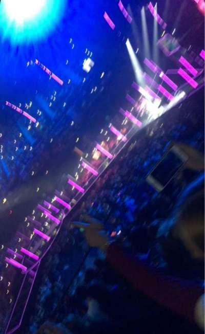 SSE Arena, Wembley, section: N5, row: P, seat: 42