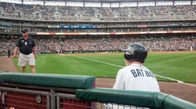 Comerica Park, section: 113, row: 2, seat: 17