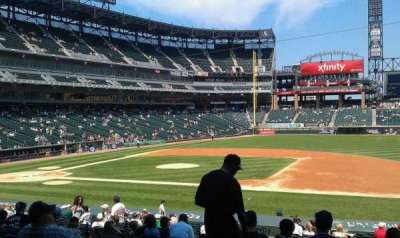 Guaranteed Rate Field section 122