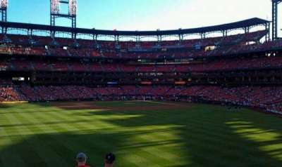 Busch Stadium, section: 593, row: 17