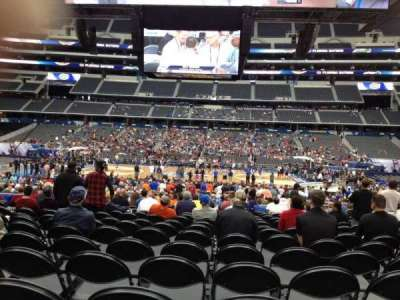AT&T Stadium, section: C110, row: PP, seat: 12