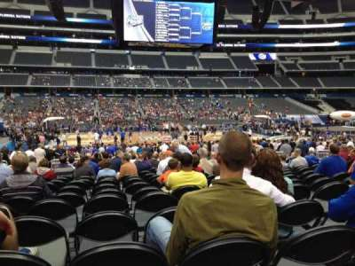 AT&T Stadium, section: C111, row: LL, seat: 16