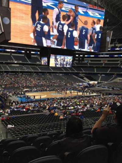 AT&T Stadium, section: C213, row: 7, seat: 12