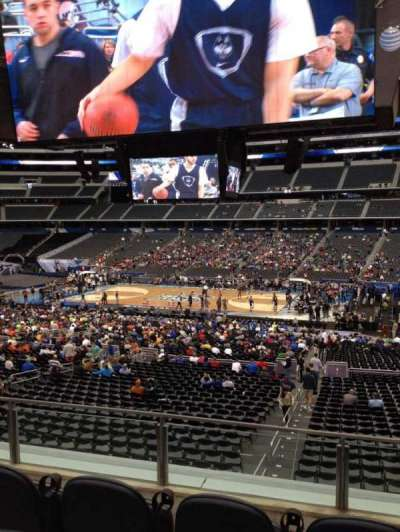 AT&T Stadium, section: C209, row: 2, seat: 2