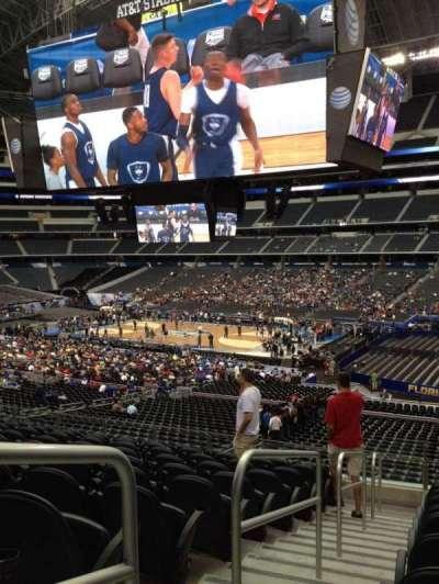 AT&T Stadium, section: C207, row: 7, seat: 15