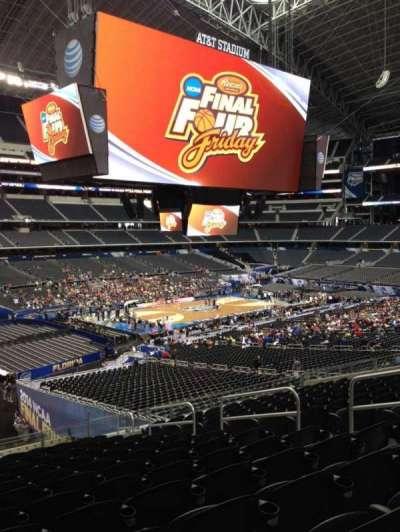 AT&T Stadium, section: C239, row: 1, seat: 2