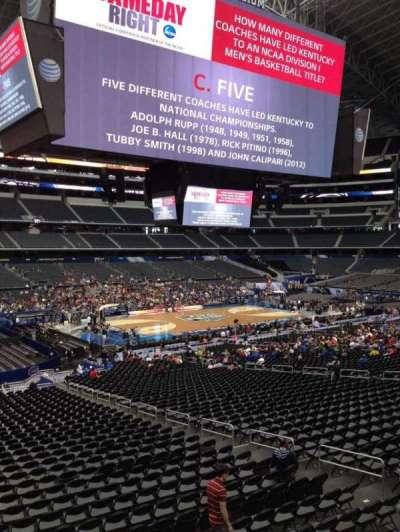 AT&T Stadium, section: C238, row: 3, seat: 3