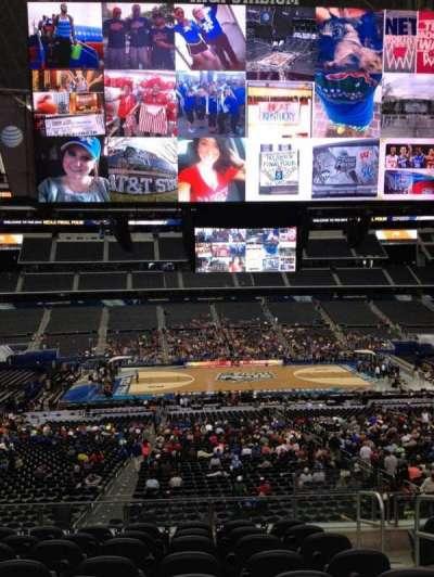 AT&T Stadium, section: C233, row: 8, seat: 11