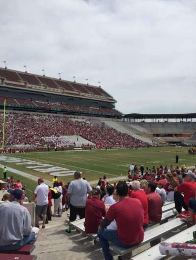 Gaylord Memorial Stadium, section: 12, row: 23, seat: 1