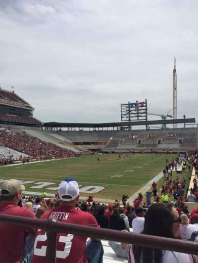 Gaylord Memorial Stadium, section: 16, row: 29, seat: 2