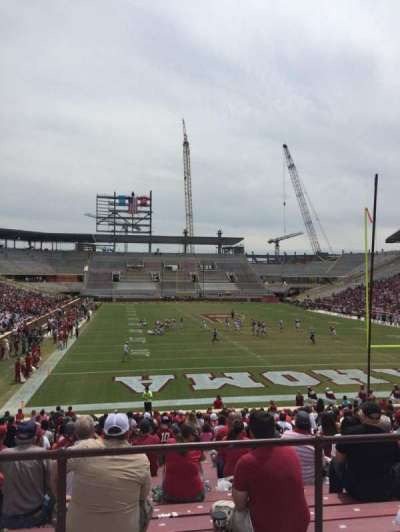 Gaylord Memorial Stadium, section: 19, row: 32, seat: 30