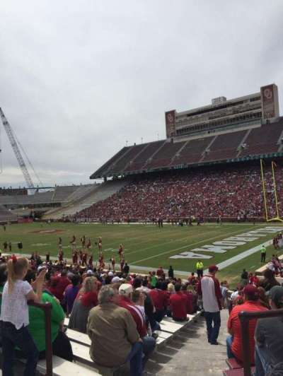 Gaylord Memorial Stadium section 24