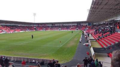 Keepmoat Stadium, row: L, seat: 0826