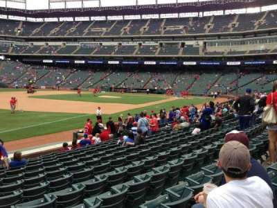 Globe Life Park in Arlington section 14