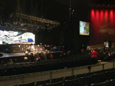 Verizon Theater, section: 205, row: Ee, seat: 22