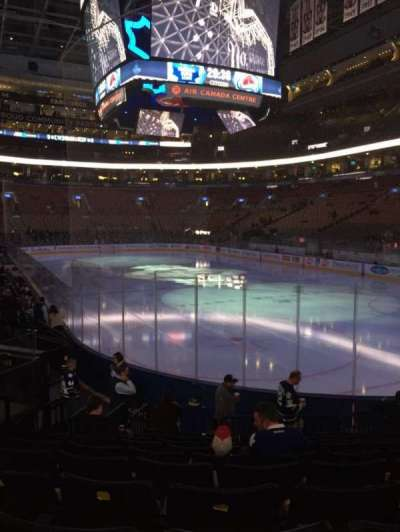 Air Canada Centre, section: 104, row: 14, seat: 12