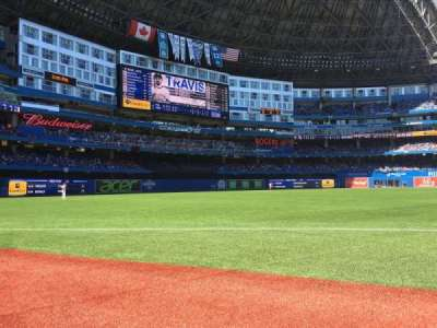 Rogers Centre, section: 130B, row: 1, seat: 12