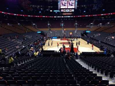 Air Canada Centre, section: 114, row: 18, seat: 6