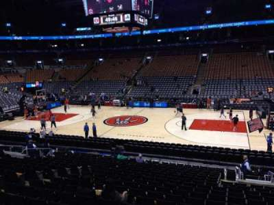 Air Canada Centre, section: 107, row: 20, seat: 11