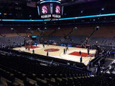 Air Canada Centre, section: 106, row: 21, seat: 10