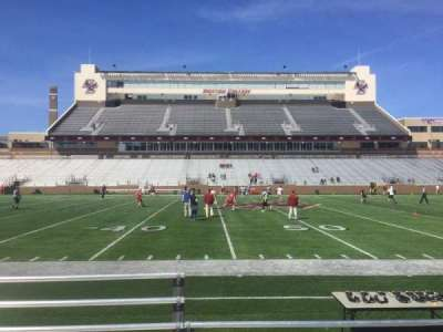 Alumni Stadium, section: R, row: 5, seat: 33