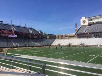 Alumni Stadium, section: R, row: 5, seat: 33