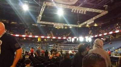 Citizens Business Bank Arena, section: FLR1, row: 14, seat: 5