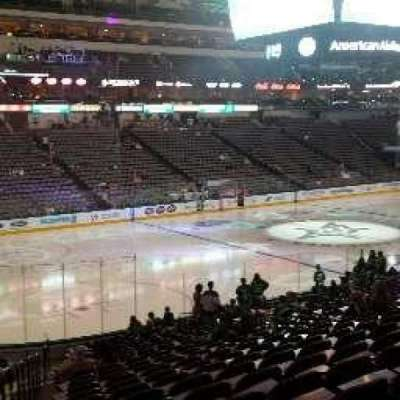 American Airlines Center, section: 121, row: W, seat: 18