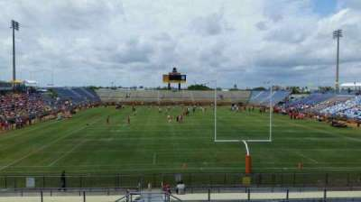Lockhart Stadium , section: 131, row: 18